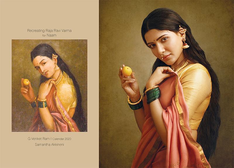Total Recall: Recreating Raja Ravi Varma's Paintings