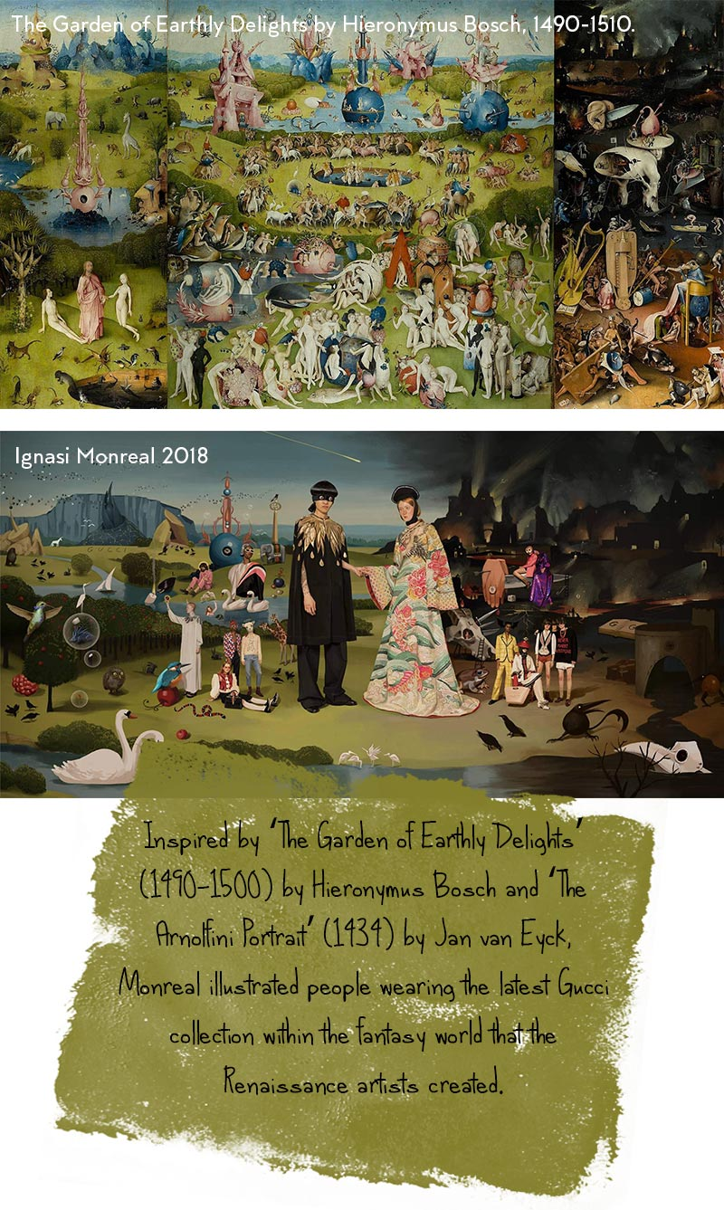 Garden Earthly Delights by Hieronymus Bosch