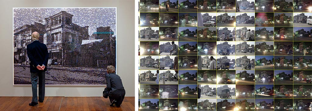 Rashid Rana. Ali Agha. Chennai Photo Biennale Senate House Madras University.