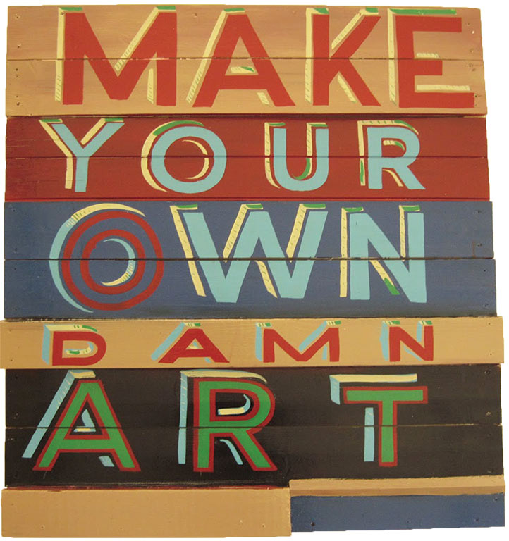 Daniel Connell Marc Riboud, Rose Kasmir, banksy Berlin Wall MAKE YOUR OWN DAMN ART New York Buenos Aires