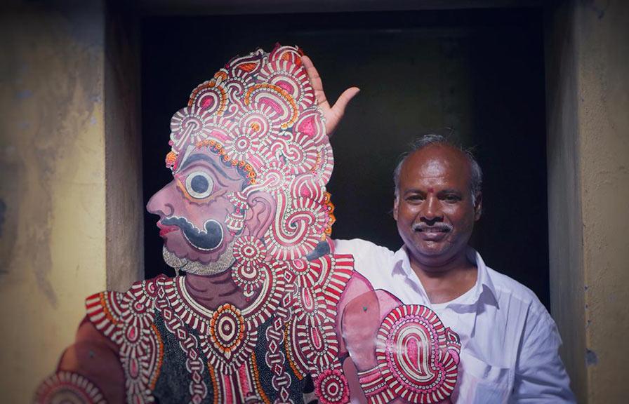 Sarmaya Arts Foundation Sindhe Chidambara Rao Paul Abraham Hanumana Rakshasa (Ravan Sena)