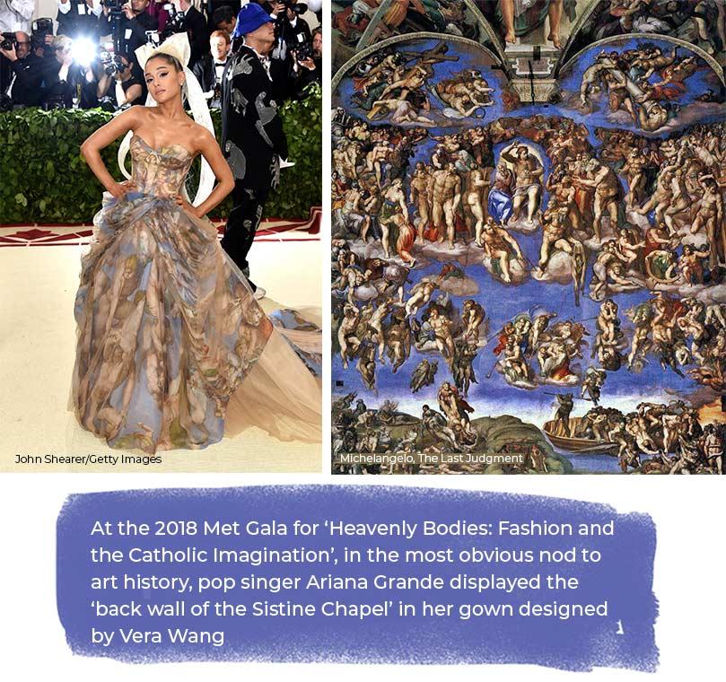 2018 Met Gala Catholic Imaginatio Ariana Grande