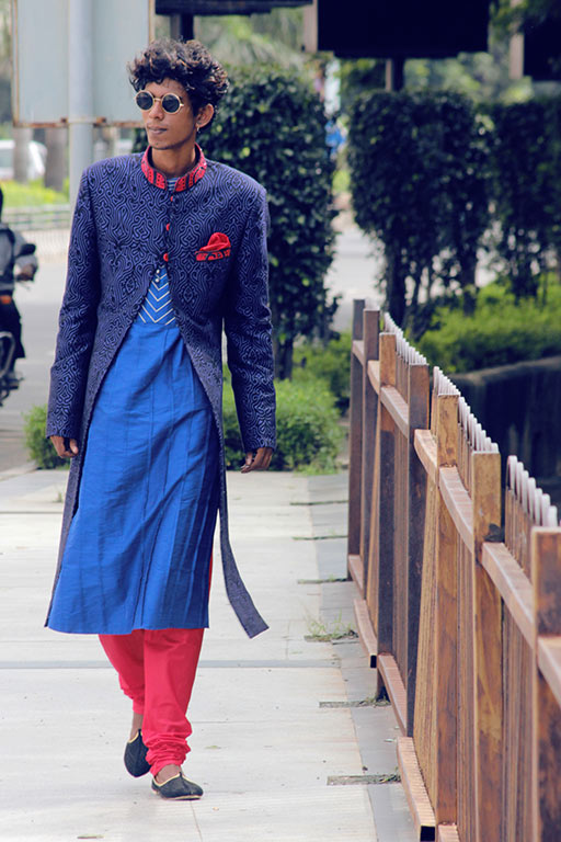 Purushu Arie, The Great Indian Jacket – Sherwani Feat. Paresh Lamba Signatures, Styling