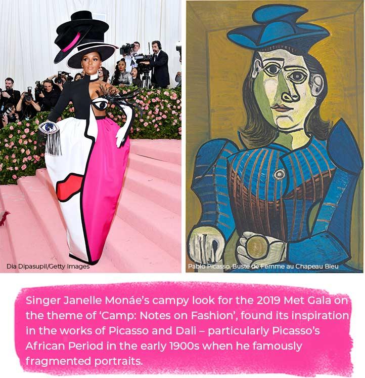 Singer Janelle Monáe's 2019 Met Gala 'Camp: Notes on Fashion'