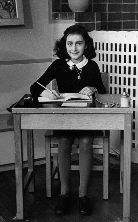 Anne Frank's Arab–Jew divide Adolf Hitler World War II European Jews Holocaust survivor