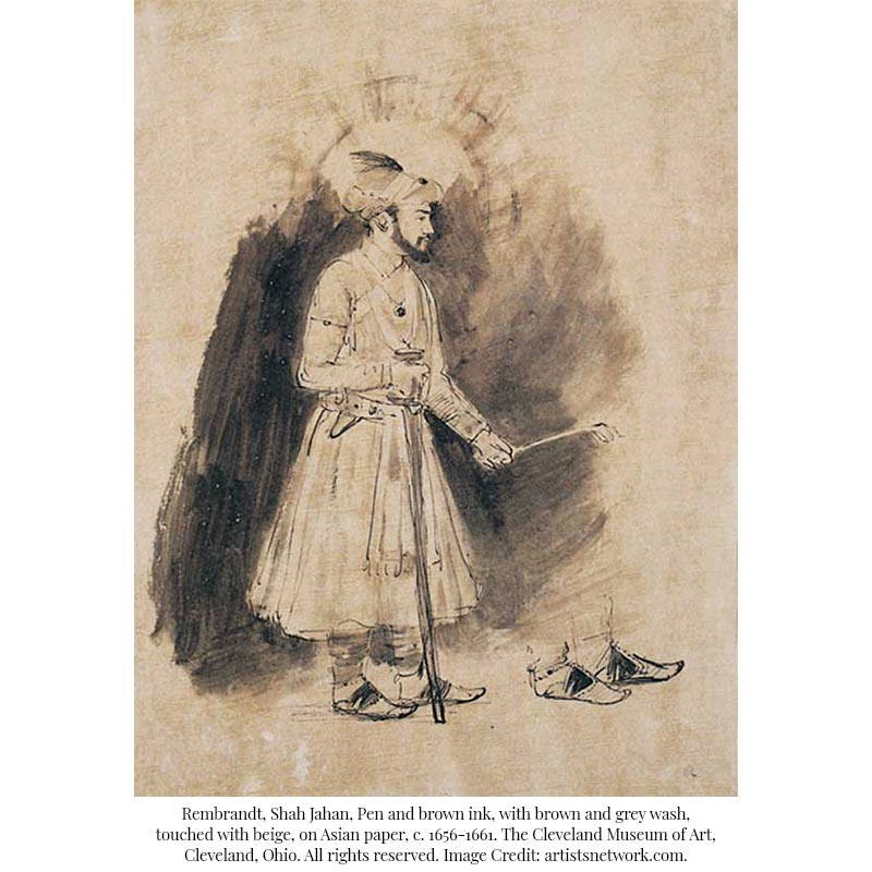 Retracing an Old Relation: Rembrandt's Mughal Paintings
