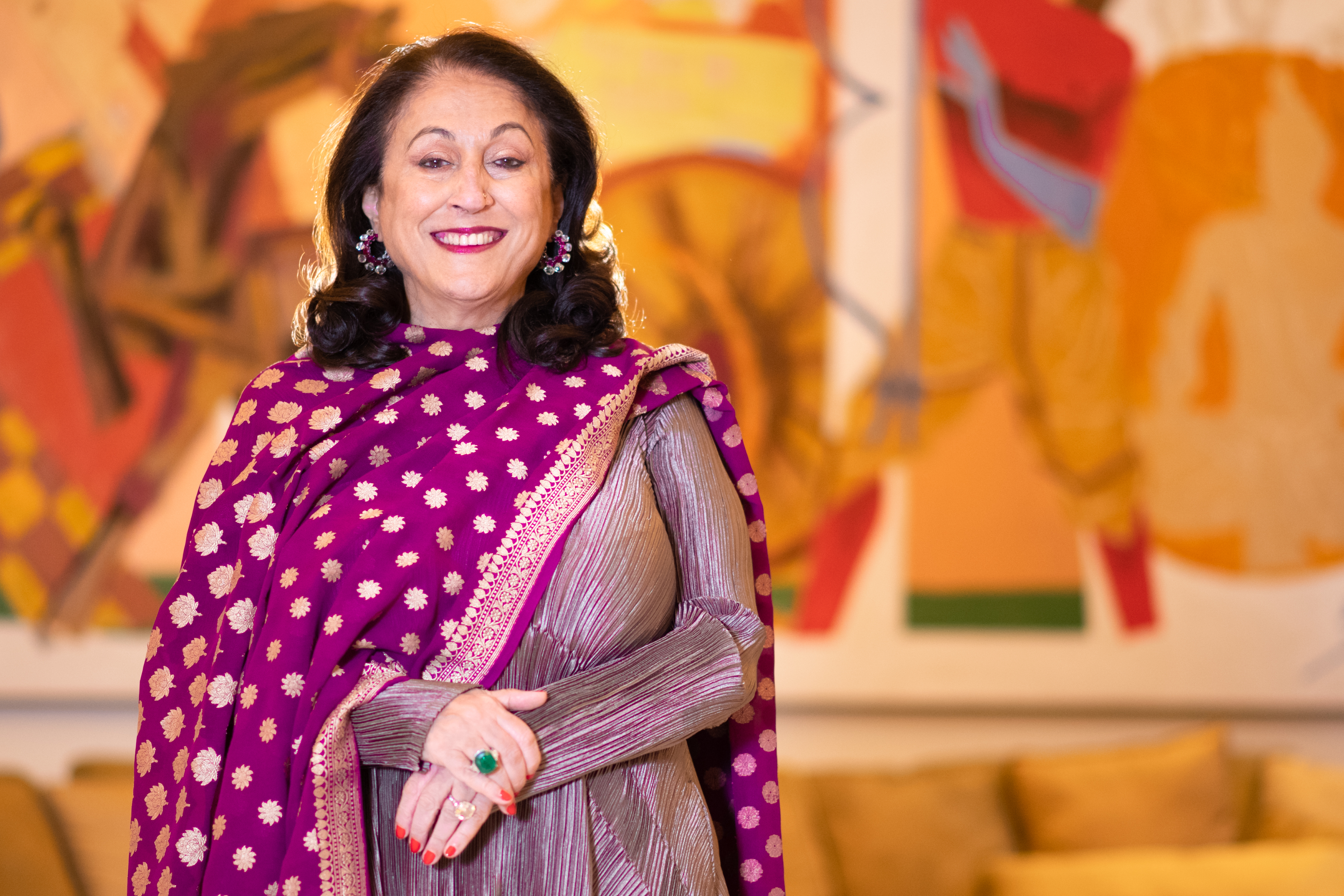 Kiran Nadar - Founder and CHairperson - KNMA (1)